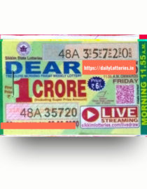 sikkim-dear-morning-friday-weekly-lottery