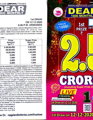 Nagaland-state-lotteries-dear-1000-monthly-12-12-2020