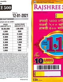 Rajshree-500-monthly-lottery-12.01.2020